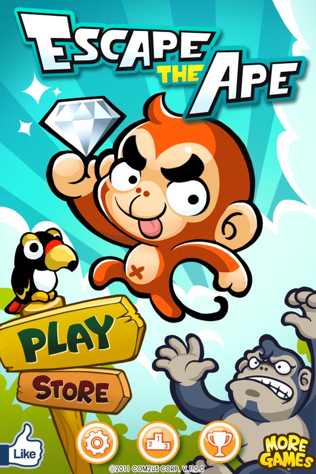 Escape The Ape screenshot 1